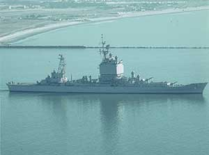 USS Long Beach De-Activated